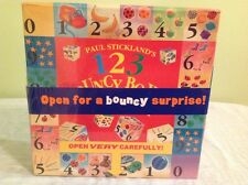 """Paul Stickland's 123 Bouncy Boxes and Board Book"" New Factory Sealed"