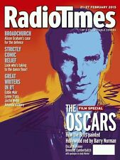 Radio Times,Benedict Cumberbatch,Barry Norman,Andy Warhol,OSCARS COVER 1