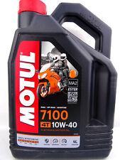 Motul 7100 10W40 Huile 10W-40 de Moto 4-Takt 4T 4Liter 100% Synthétique