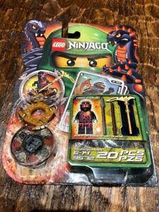 New LEGO Ninjago NRG Cole Spinner 9572