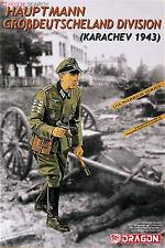 DRAGON HAUPTMANN GROBDEUTSCHELAND DIVISION KARACHEV 1/16 Kits Soldiers 1 figures