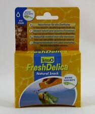Tetra Fresh Delica 48g Gel Food Brine Shrimps For Aquarium Fish 16,44 €/ 100g