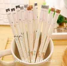 6PCS/Pack Lovely Cats Black Roller Ball Point Pens Gel Ink Pens Korean Style Hot