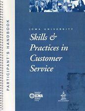 Skills & Practices in Customer Service Participant's Handbook