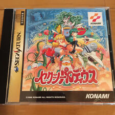 Sexy Parodius Sega Saturn KONAMI Playing is Excellent!! from Japan