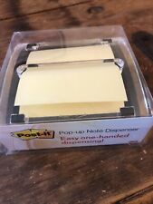 New Listingpost It Clear Top Pop Up Note Dispenser For 3 X 3 Self Stick Notes Blackclear