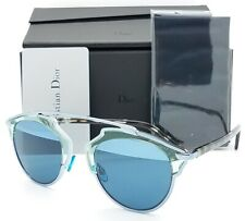 NEW Dior sunglasses SO REAL KLY Aqua Green Havana AUTHENTIC Unisex $500+ Fashion