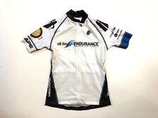 XS Women's All Day Endurance Hincapie Short Sleeve Cycling Jersey White CLOSEOUT