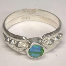 Offerings Sajen 925 Sterling Silver Handmade Caribbean Quartz Ring Sz.6