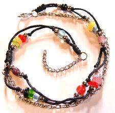 BRACELET/ CHAINE DE CHEVILLE BIJOUX METAL PIED ANKLET  perles chevillère