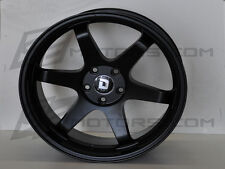 Drag Wheels DR-53 T-37 Style 19X9.5 Rear + 32 5/120 for Black Full Concave Rim