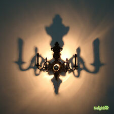 Projective Chandelier Louis 5d Shadow Wall Lamp Sconces Ceiling Lamp Wall Light