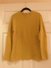 The Row Cashmere Deep Yellow Sweater Medium M