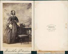 Taunton, Martha Dawson vintage CDV albumen carte de visite,  CDV, tirage album