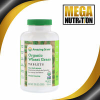 Amazing Grass Organic Wheat Grass Tablets 200 Tablets | Detox Green Superfood