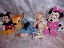 "New listing Disney Eeyore Tigger Bambi 8"" Minnie Mickey Mouse Plush Soft Toy Stuffed Animal"
