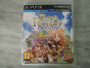 Rune Factory Oceans PS3 PlayStation 3 Complet