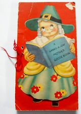 A HANKY-A-DAY MOTHER GOOSE BOOK w/7 hankies