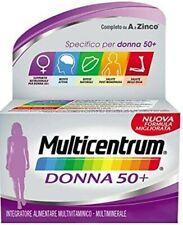 Multicentrum Donna 50+ 60 Compresse Pfizer Italia DIV.Consum.Healt