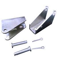 2PCS Steel Mount Mounting Brackets for Linear Actuator Motor Heavy Duty Durable