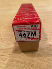 Starrett 467m Thickness Gage Made In The Usa
