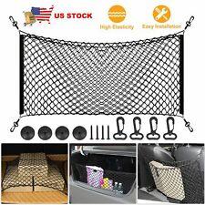 Universal Car Trunk Cargo Net Holder Elastic Mesh Organizer Accessories SUV