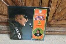 "JOHNNY HALLYDAY ""SUPER HITS-LE PENITENCIER"" double LP vinyl 33T-1978"