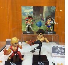 "Kids Logic Ken Fei Long Ryu Sakura Ultra Street Fighter IV 4"" Action Figure set"
