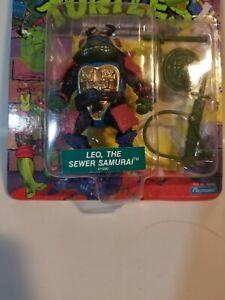 TMNT 1990 Teenage Mutant Ninja Turtles Leonardo Leo The Sewer Samurai Sealed