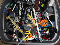 LEGO Bulk Lot of 2 Pounds technic! gears beams, Clean Genuine 2 Lbs Grab Bag