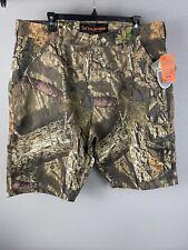 Mossy Oak Mens Hunting Short Size 36 Reg. $ 50 Camo