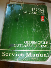 1994 OLDS CUTLASS SUPREME Service REPAIR Manual ENGINE ELECTRICAL TRANSAXLE 4T60