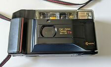 Kyocera TD Yashica T2 D Carl Zeiss T* lens 35mm Film Camera w/ case and manual