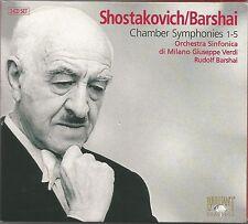 Shostakovich/Barshai ~ Kammersinfonien 1 - 5 ~ Barshai
