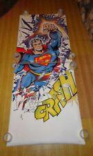 Original 7 ft 1977 Superman 84x34 DC Action Adventure Comics poster 1: 1970s/JLA