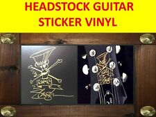 SLASH GUNS N'ROSES HEADSTOCK STICKER SIGNATURE VISIT MY STORE CUSTOM FOR GUITAR