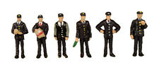 1960/70s Station Staff (x6) - Graham Farish 379-318 - N painted figures - F1