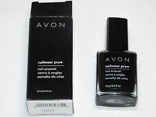 Avon NailWear Pro+ Nail Enamel Licorice 12 ml 0.4 fl oz nail polish mani pedi;;