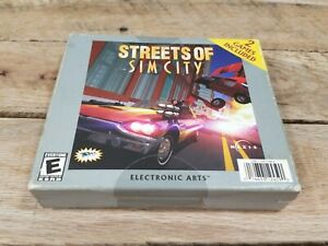SimCity 2000/Streets of SimCity (PC, 2002) Used Good Shape
