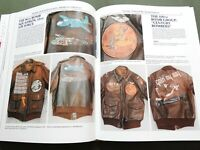 """AMERICAN FLIGHT JACKETS"" US AAF WW2 PILOT PAINTED A-2 B-10 G-1 REFERENCE BOOK"