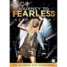 TAYLOR SWIFT JOURNEY TO FEARLESS DVD ALL REGIONS NTSC 5.1 NEW