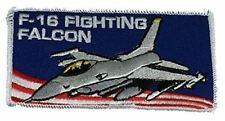 USAF Air Force F-16 Fighting Falcon Patch Supersonic Fighter Jet Aircraft