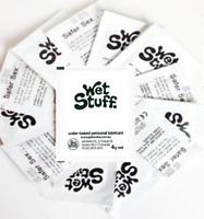 Wet Stuff Gold 4g Sachet On the Go Travel Lubricant Bulk Lube 100 Sachets