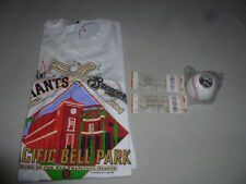 2000 WORLD SERIES TICKETS & SHIRT LOT SF GIANTS FIRST GAME BREWERS MLB BASEBALL