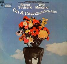 SOUNDTRACK LP ON A CLEAR DAY YOU CAN SEE FOREVER STREISAND