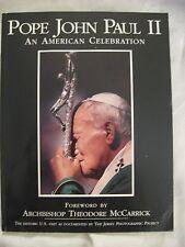 Pope John Paul II An American Celebration 1995 American visit VG condition PB