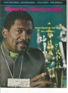 Vintage Sports Illustrated  December 23  1968  Bill Russell