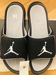 Nike Air Jordan Hydro 6 Men's Slides Black/Grey 881473-011 Sizes [9-14]
