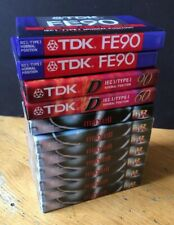 11 x Blank Cassette Tapes - Sealed - Maxell & TDK - Lot Bundle