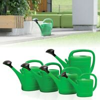 Spring Green Plastic Watering Can Garden Water Sprinkler Plants Summer Outdoor